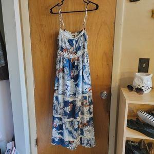 Jaase floral maxi dress